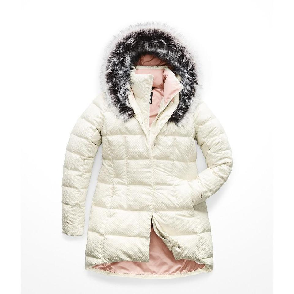 2138ca081 The North Face Vintage White Faux-fur Collar Down Parka Activewear Size 8  (M) 45% off retail