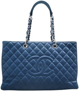 Chanel Shopping Tote Caviar Xl Shoulder Bag