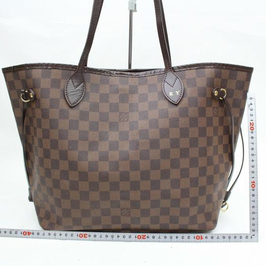 Louis Vuitton Neverfill Eben Neverfold Shoulder Bag Image 5