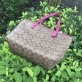 Coach Tote in Khaki Pink Image 3