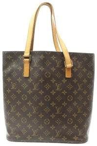 Louis Vuitton Luco Neverfull Sac Shopper All In Tote in Brown