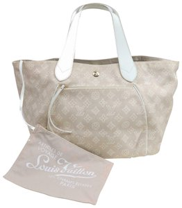 Louis Vuitton Tahitenne Limited Rare Cruise Neverfull Tote in Beige