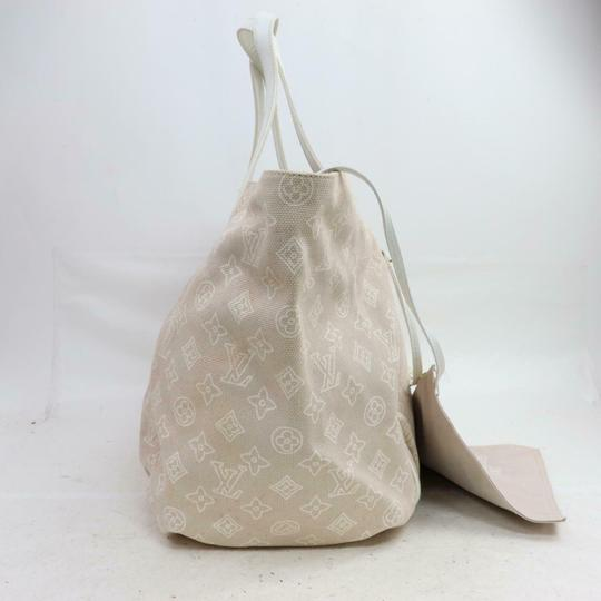 Louis Vuitton Tahitenne Limited Rare Cruise Neverfull Tote in Beige Image 7