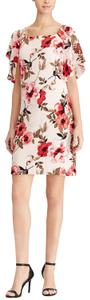 American Living short dress PINK FLORAL on Tradesy