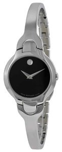 Movado Kara Movado Dot Appears Stainless Steel Quartz Round Ladies Watch