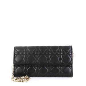 97266f5a1c2 Dior Christian Croisiere Cannage black Clutch