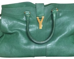 Saint Laurent Tote in Green