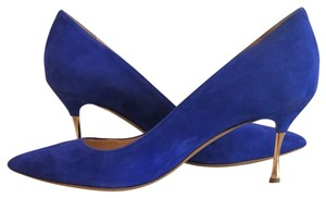 Nicholas Kirkwood electric blue Pumps