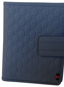 Gucci Gucci Embossed GG Leather iPad case
