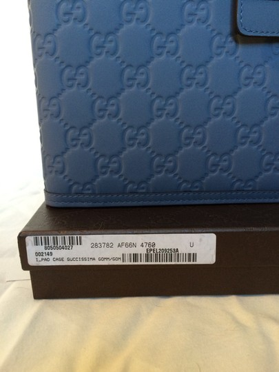 Gucci Gucci Embossed GG Leather iPad case Image 6