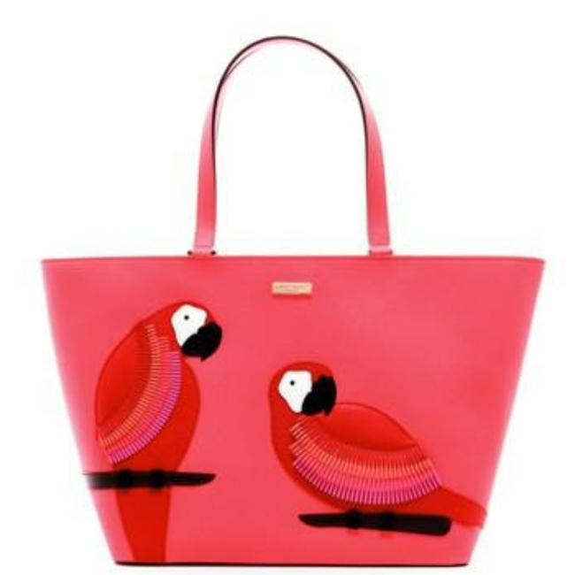 Item - Talk To The Parrot Pink Leather Hobo Bag