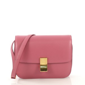 Céline Classic Leather Cross Body Bag