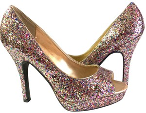 Candie's multicolored Pumps
