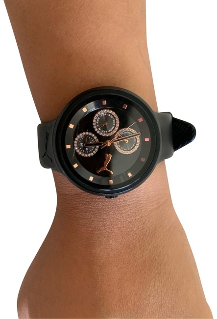 Item - Black and Gold Watch