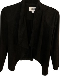 BB Dakota Black Suede Leather Jacket