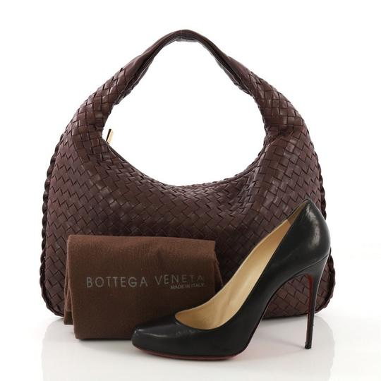 Bottega Veneta Leather Hobo Bag Image 1
