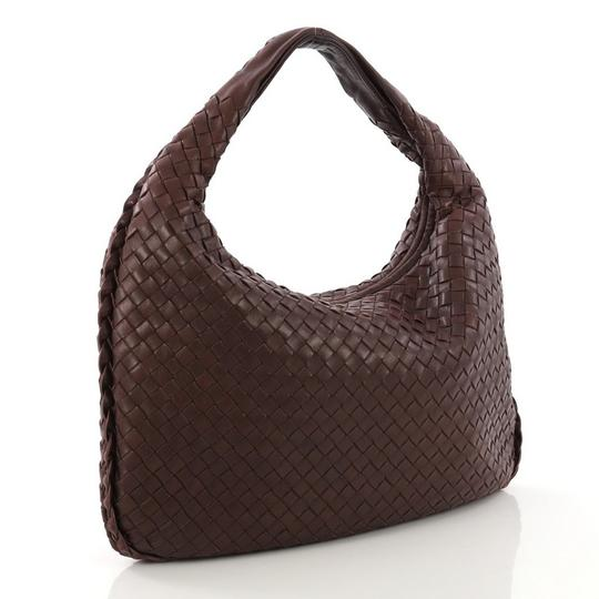 Bottega Veneta Leather Hobo Bag Image 2