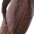 Bottega Veneta Leather Hobo Bag Image 7