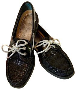 Sperry Black Flats