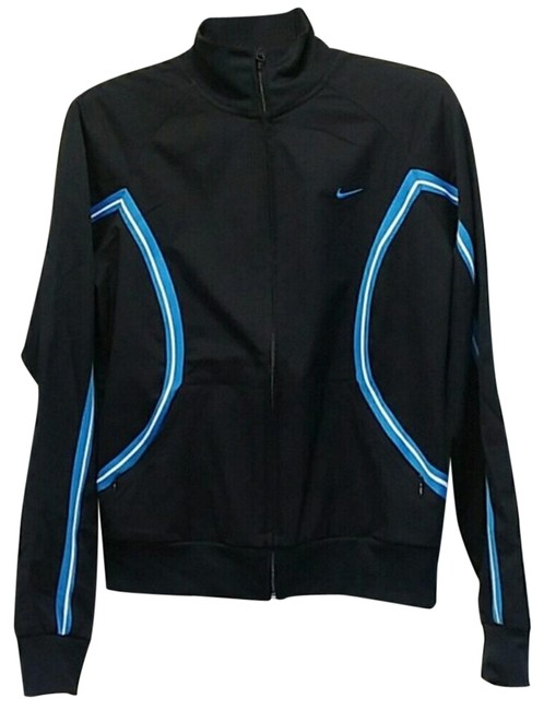 Item - Navy Track Activewear Outerwear Size 8 (M)