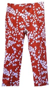 MICHAEL Michael Kors Pants Flower Capris red
