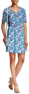Charles Henry short dress blue on Tradesy