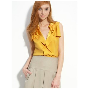 Elie Tahari Top yellow