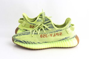 adidas X Yeezy Yellow Boost 350 V2 Semi Frozen Sneakers Shoes