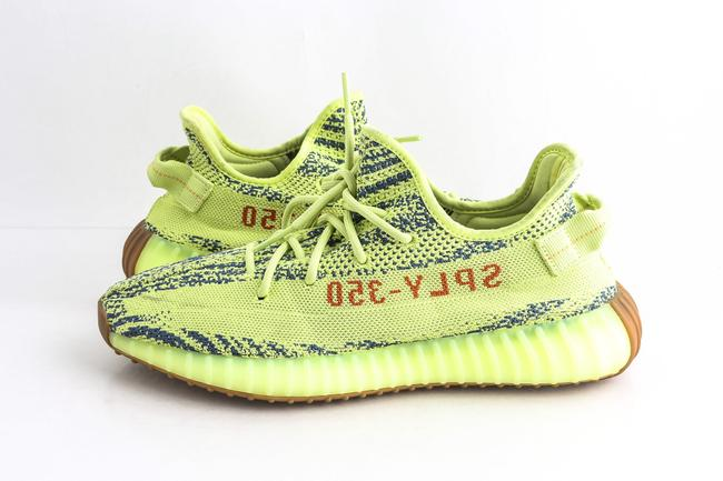 Item - Yellow Boost 350 V2 Semi Frozen Sneakers Shoes