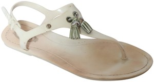 Tod's Ivory Sandals