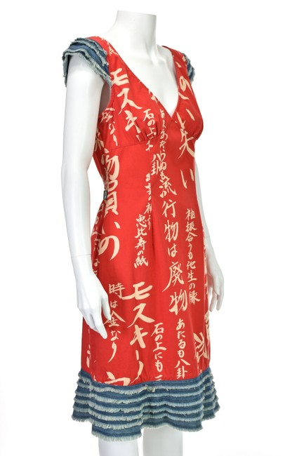 Moschino short dress Red on Tradesy Image 2