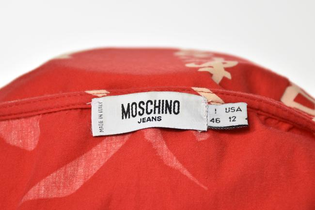 Moschino short dress Red on Tradesy Image 5
