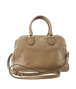 Tory Burch Leather Tote in Brown
