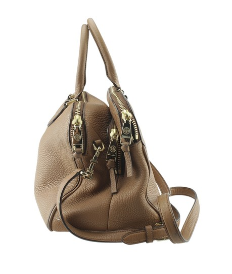 Tory Burch Leather Tote in Brown Image 2