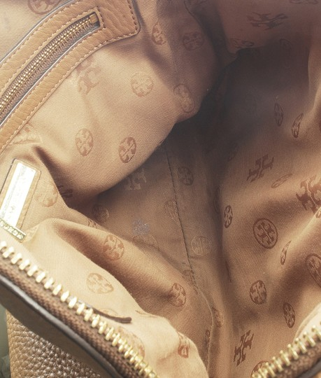 Tory Burch Leather Tote in Brown Image 8
