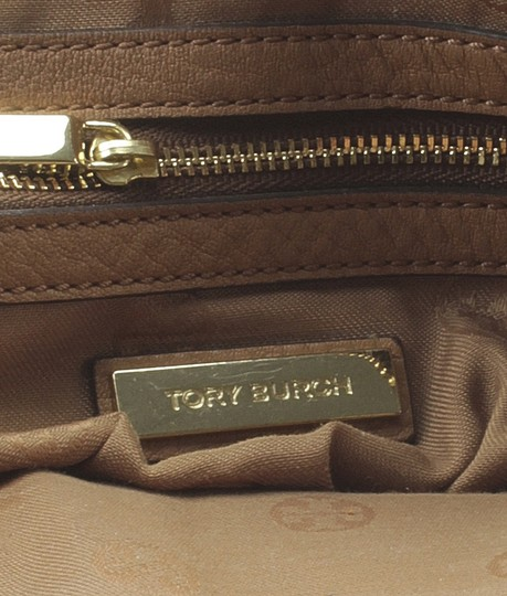 Tory Burch Leather Tote in Brown Image 9