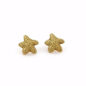 6d010bd12 Tiffany & Co. Beaded Starfish 18k Yellow Gold Earrings