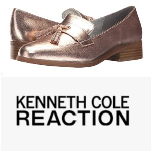 Kenneth Cole Reaction Rose gold Flats