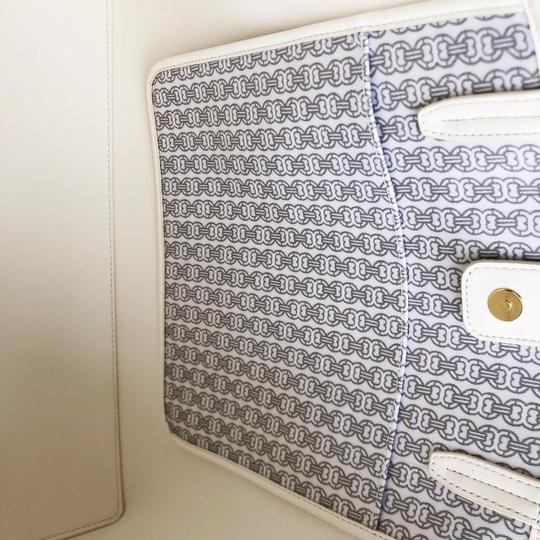 Tory Burch Tote in New Ivory/Navy/Gray Image 5