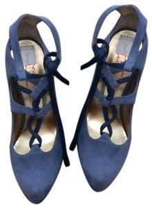 Walter Steiger Blue (more of a blueberry color) Pumps