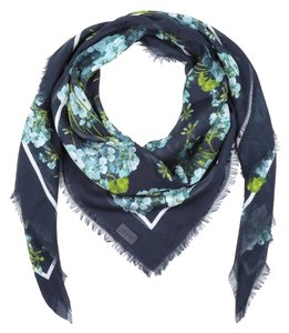 Gucci Gucci Blooms Large Square Shawl Scarf