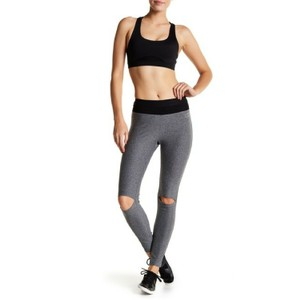 Bebe Sport High Performance Cut-Out Leggings