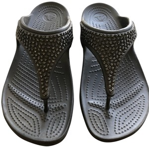 Crocs Comfortable Beach black Sandals