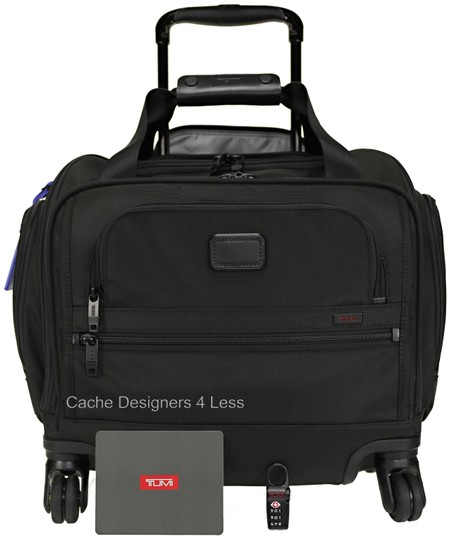 Tumi Black Travel Bag Image 0