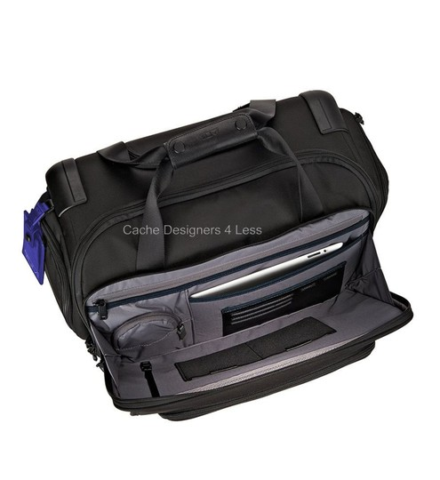 Tumi Black Travel Bag Image 3