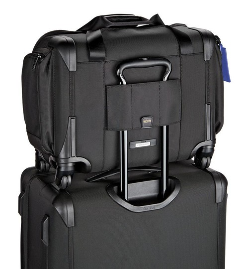 Tumi Black Travel Bag Image 1