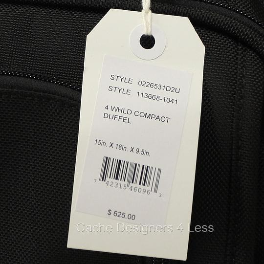 Tumi Black Travel Bag Image 11