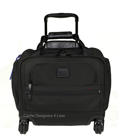 Tumi Black Travel Bag Image 9