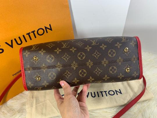 Louis Vuitton Satchel in brown red Image 11
