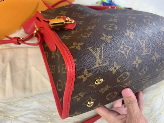 Louis Vuitton Satchel in brown red Image 6